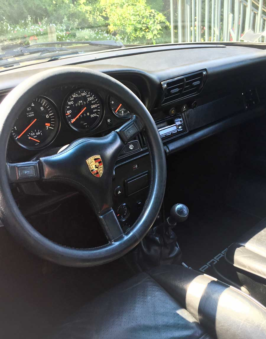 porsche 930  TURBO 3.3 S (RETROFIT) 1987