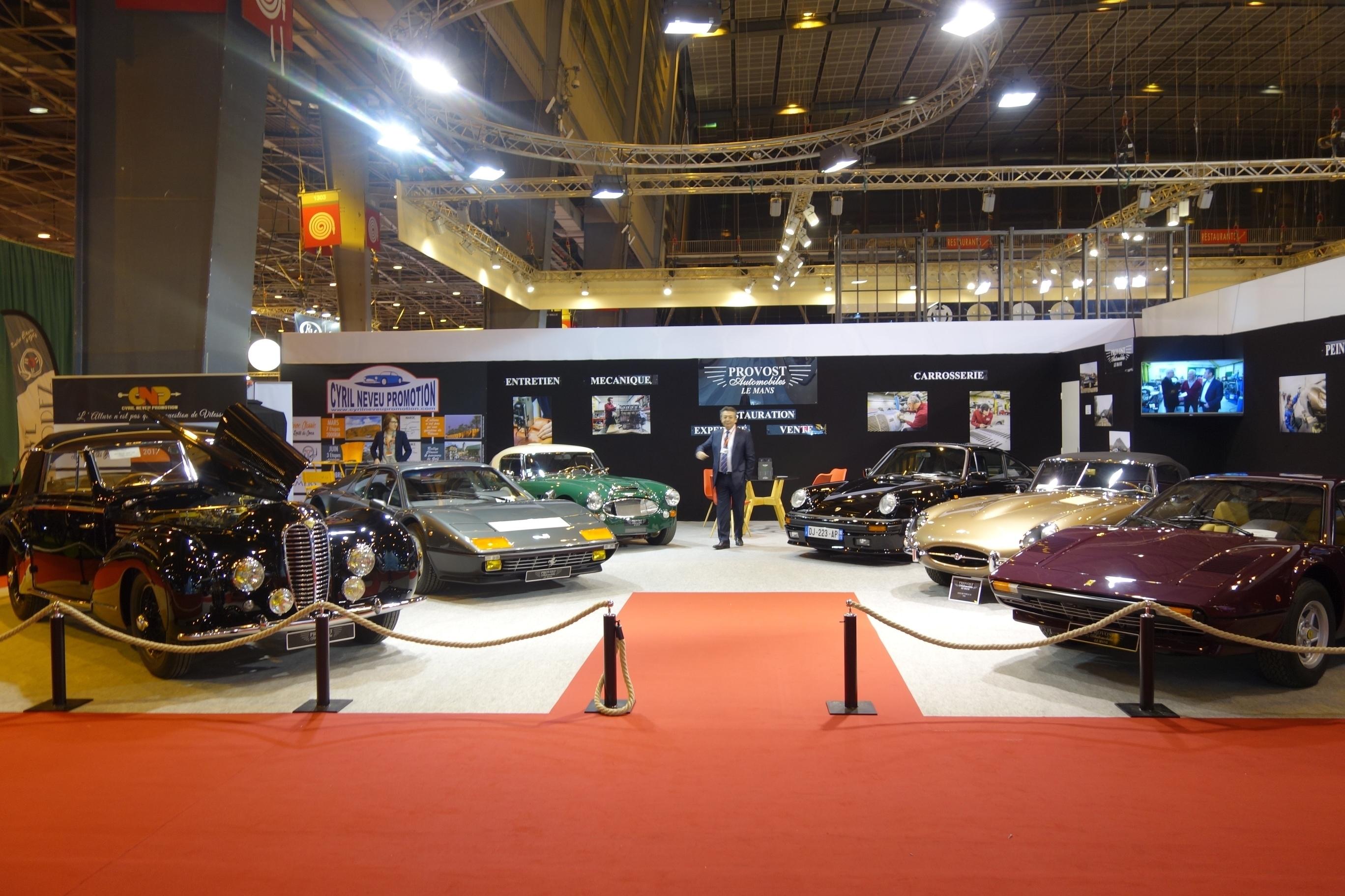 évènement Rétromobile 08.02.2017