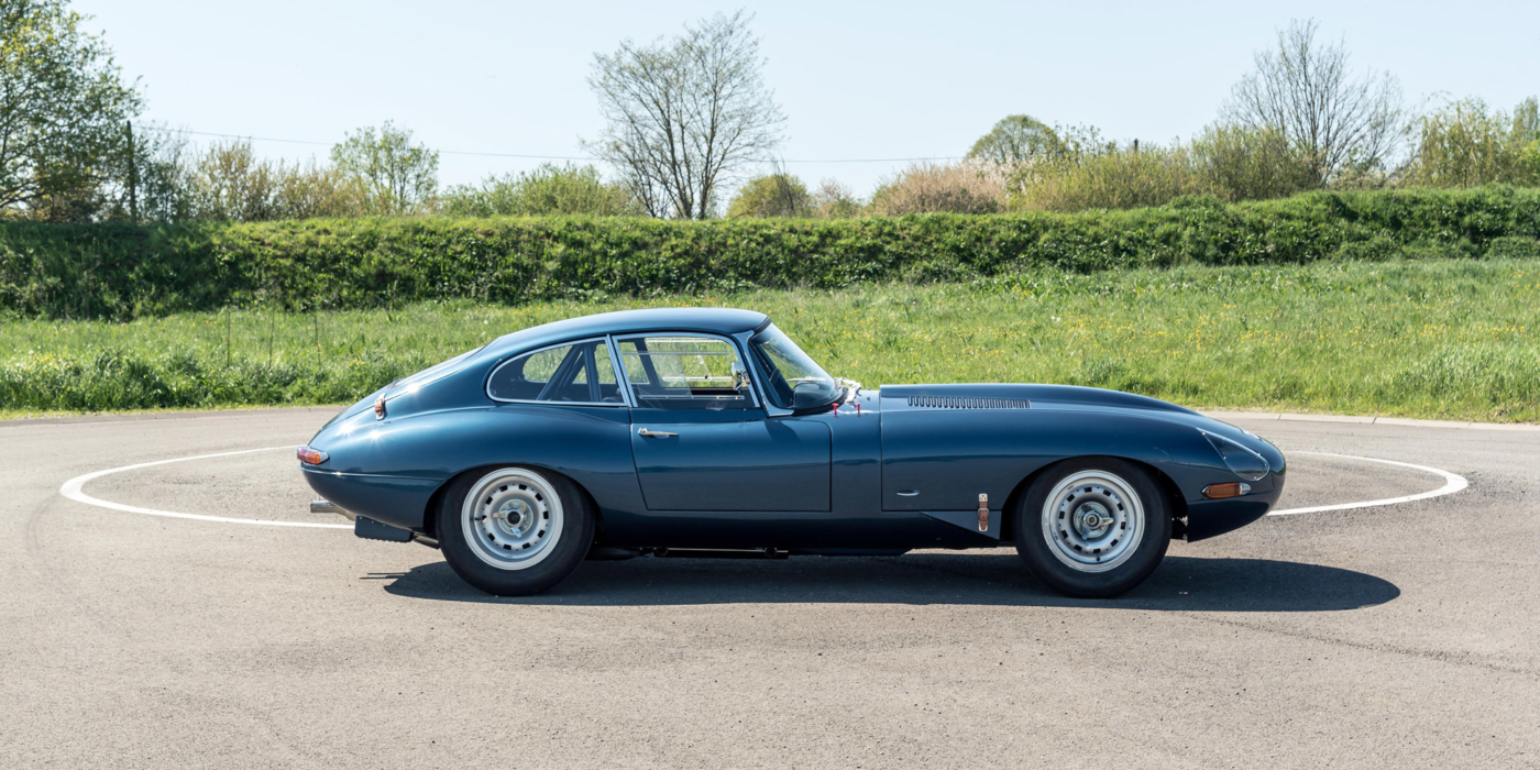 jaguar type e semi lightweight