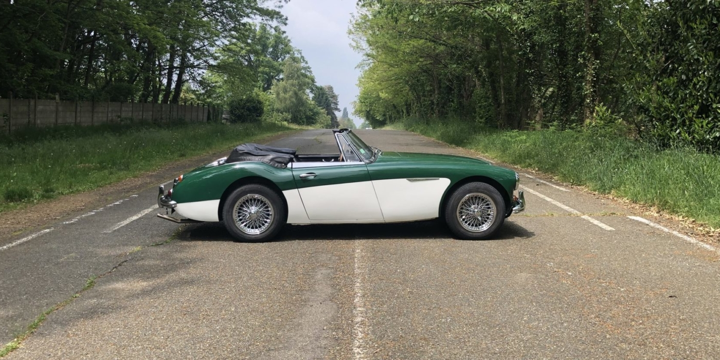 Austin Healey BJ8 phase 2