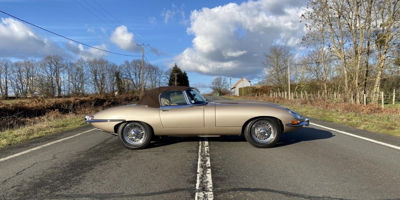 Jaguar type-E série 1 4.2 cabriolet