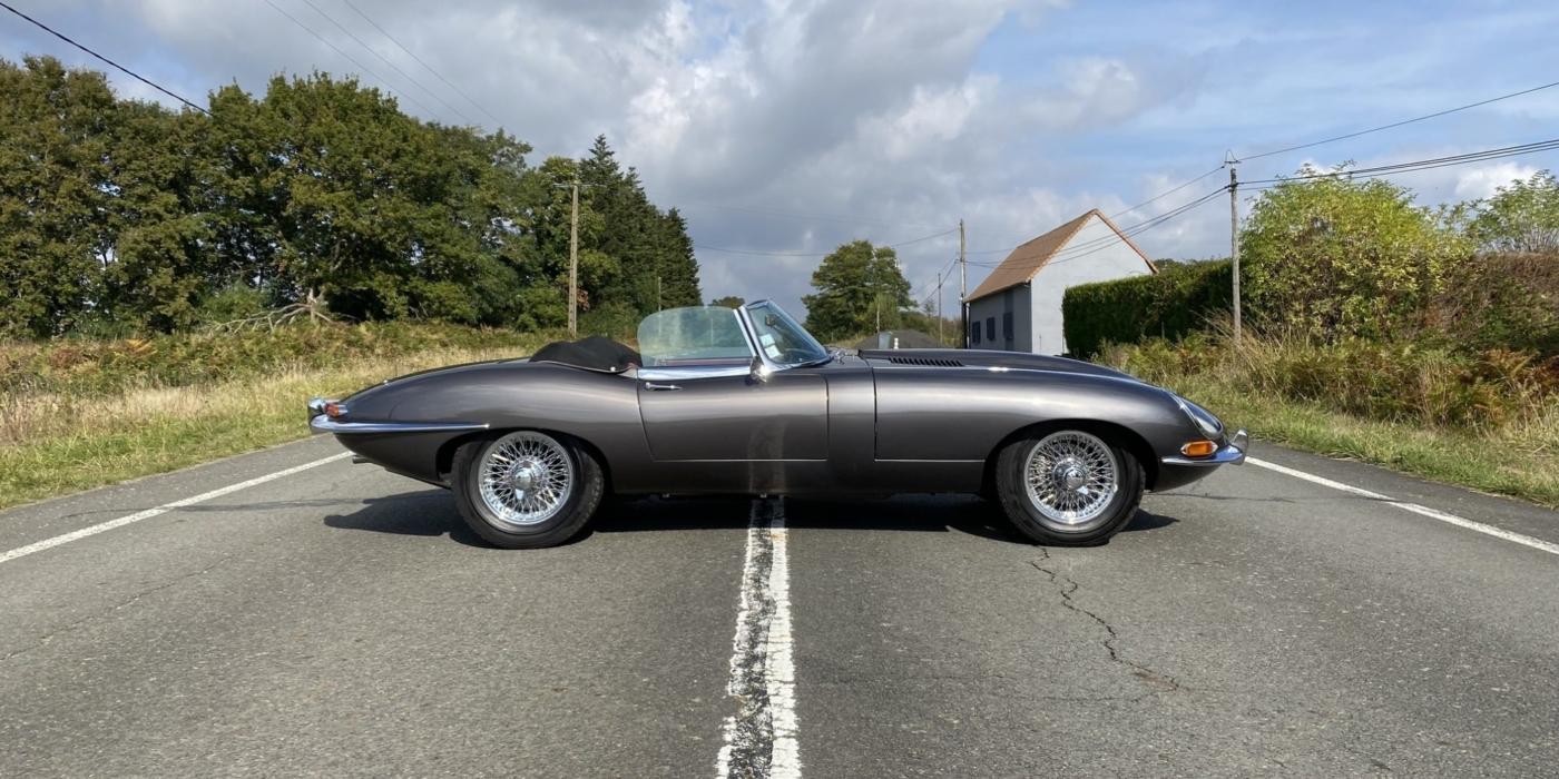 jaguar Type-E Série 1 3.8 cabriolet